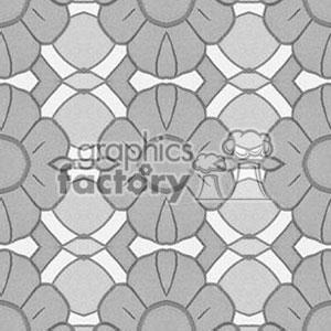 Tiled flower background