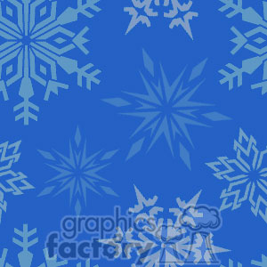 Snowflake tiled background clipart. Royalty-free image # 372654