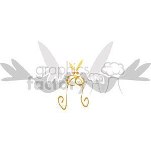 Two love birds kissing clipart. Royalty-free image # 146121