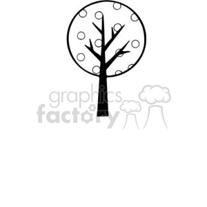 Tree-Single-2 clipart. Commercial use image # 380221