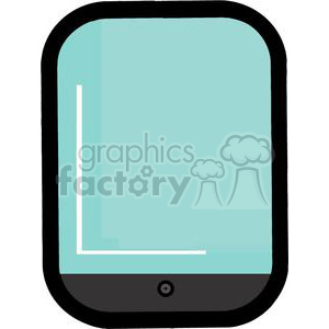 cartoon Ipad clipart. Royalty-free image # 380291