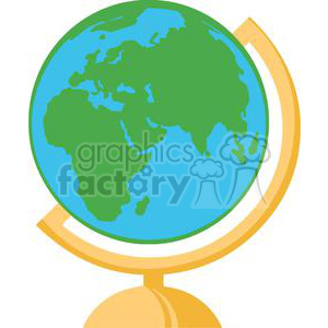 2725-Globe clipart. Commercial use image # 380296