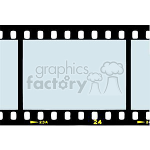 2800-Film-Strip clipart. Commercial use image # 380461