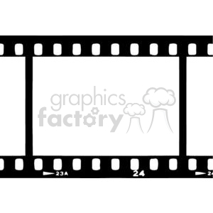2799-Movie-Strip clipart. Royalty-free image # 380481