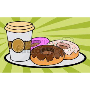 3489-Coffe-Cup-With-Donut