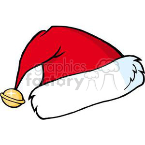 3347-Santas-Hat clipart. Commercial use image # 380886