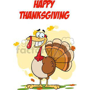 3505-Turkey-Mascot-Cartoon-Character clipart. Royalty-free image # 380991