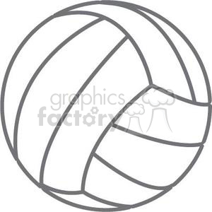 volleyball clipart. Commercial use image # 381185