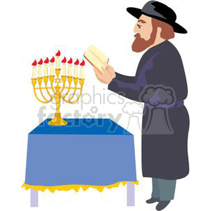 Jewish Rabbi clipart. Royalty-free image # 381478