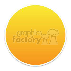 yellow download button clipart. Royalty-free image # 381617