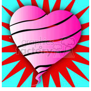 heart-8 clipart. Commercial use image # 381657