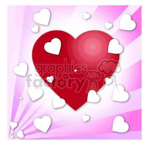 heart hearts Valentine Valentines love relationship relationships vector cartoon red pink RG  Mothers Day Mother Mom