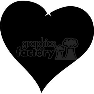 black heart clipart. Royalty-free image # 381702