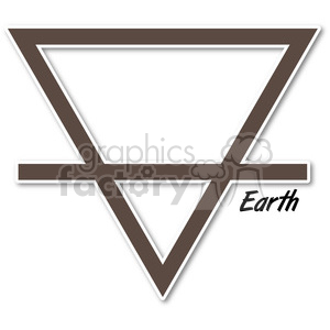 Earth symbol 002 clipart. Commercial use image # 384797