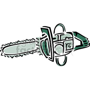 chainsaw clipart. Royalty-free image # 385009