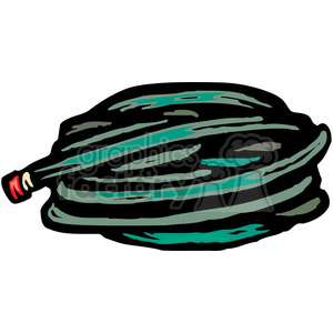 green hose clipart. Commercial use image # 385019