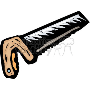 cartoon saw clipart. Commercial use image # 385029