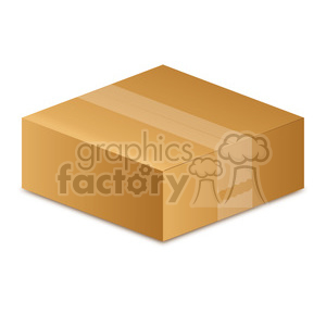 small box clipart. Royalty-free image # 385559