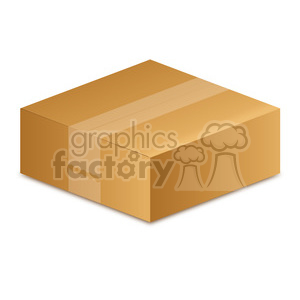 closed box illustration clipart. Royalty-free image # 385589