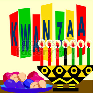 Kwanzaa clipart. Commercial use image # 145006