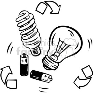 sustainable energy clipart. Royalty-free image # 386134