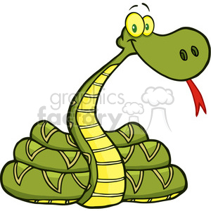 5122-Snake-Cartoon-Character-Royalty-Free-RF-Clipart-Image clipart. Royalty-free image # 386233