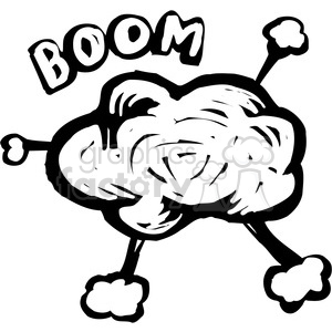 bomb explosion clipart. Commercial use image # 173675