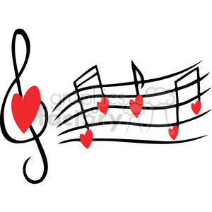 love song clipart. Commercial use image # 386608