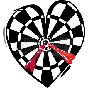 love dartboard bullseye clipart. Commercial use image # 386628