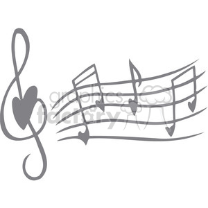 love song notes clipart. Commercial use image # 386708