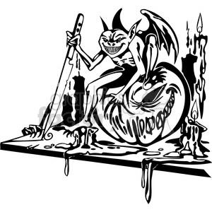 Halloween clipart illustrations 029