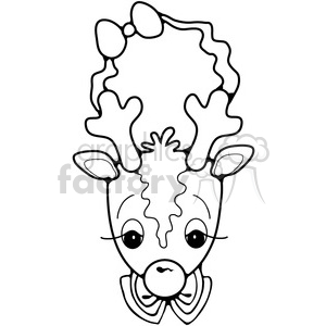 Deer Ornament clipart. Royalty-free image # 387237