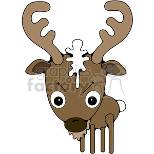 Buck Deer clipart. Royalty-free image # 387257