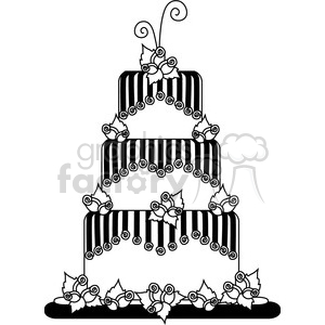 Party Cake 1 clipart. Royalty-free image # 387444