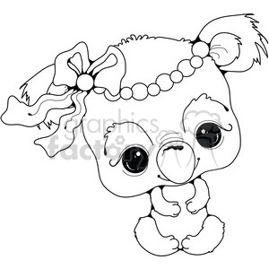 Baby Koala clipart. Commercial use image # 387468