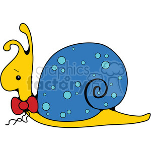 Snail in color clipart. Royalty-free image # 387637