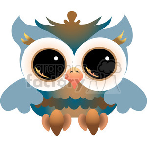Owl COL clipart. Royalty-free image # 387651