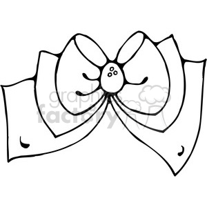 Bow 02 clipart clipart. Commercial use image # 388003