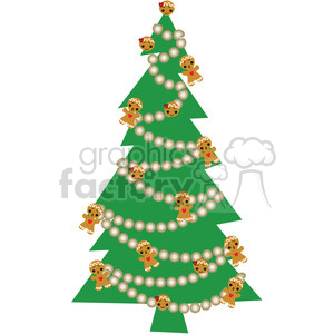 Christmas Tree 03 clipart clipart. Royalty-free image # 388062