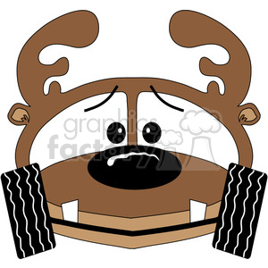 Deer Buggy clipart. Royalty-free image # 388590