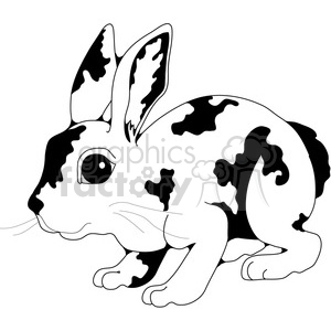 Rabbit clipart. Commercial use image # 388610