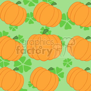 6651 Royalty Free Clip Art Pumpkin Background Seamless Pattern clipart. Commercial use image # 389729