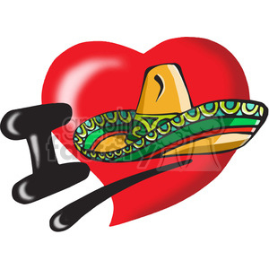 I love Mexico clipart. Royalty-free image # 389807