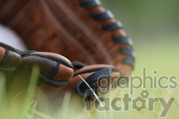 baseball glove in grass blurred clipart. Commercial use image # 391046