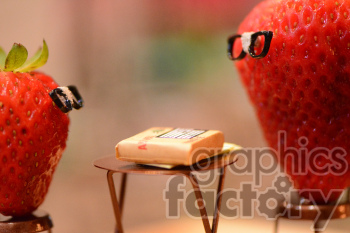 strawberry people photo. Royalty-free photo # 391236