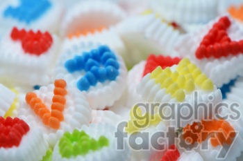 candy party letters clipart. Royalty-free image # 391246