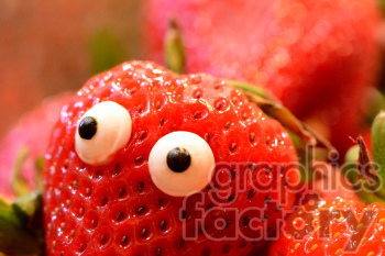 strawberry person photo. Royalty-free photo # 391261