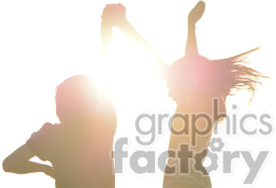 dancing in the sun clipart. Royalty-free image # 391271