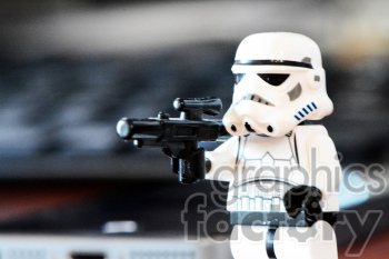 Lego Stormtrooper photo clipart. Commercial use image # 391331