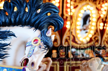 horse ride carousel photo. Royalty-free photo # 391341